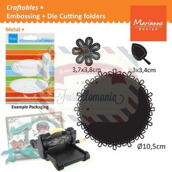 Fustella metallica Marianne Design Craftables Circle & flower stitch