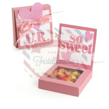 Fustella Sizzix BIGz XL Box porta confetti