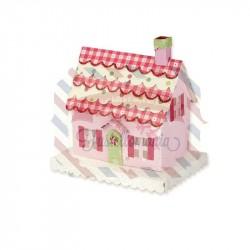 Fustella Sizzix BIGz XL Brenda Walton Country Cottage 3D