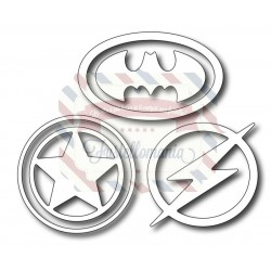 Fustella metallica Simboli eroi