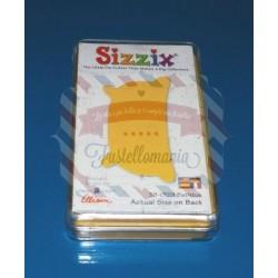 Fustella Sizzix Originals Yellow Vasca da bagno