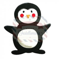 Fustella Sizzix Bigz Animal Dress Ups Penguin pinguino