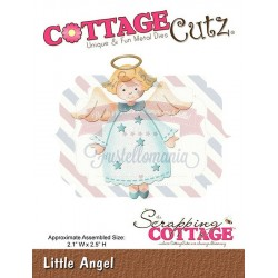 Fustella metallica Cottage Cutz Little Angel