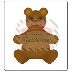 Fustella Sizzix Bigz Orsetto Teddy bear 4