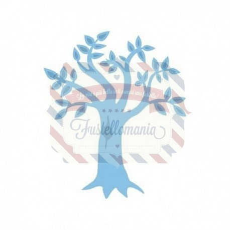 Fustella metallica Marianne Design Creatables Tree