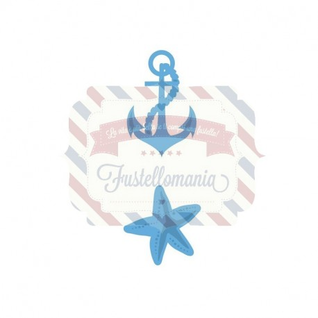 Fustella metallica Marianne Design Creatables Anchor
