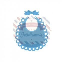 Fustella metallica Marianne Design Creatables Bib