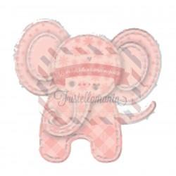 Fustella metallica Elefante patchwork