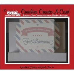 Fustella metallica Crealies Create a card 6