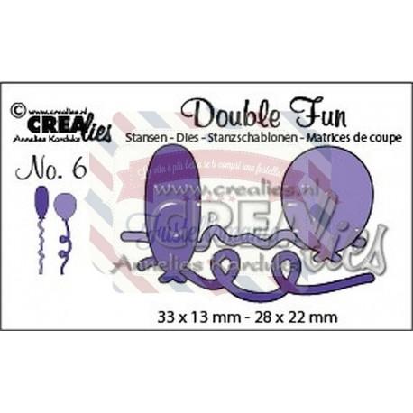 Fustella metallica Crealies Double fun 6