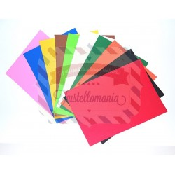 Fommy Darice 2 mm foglio singolo A4 colori assortiti
