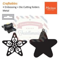 Fustella metallica Marianne Design Craftables Filigree star