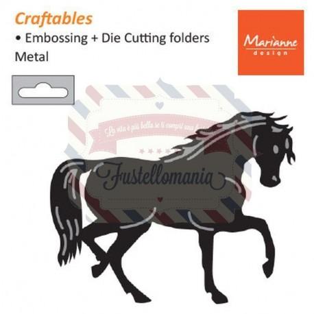 Fustella metallica Marianne Design Craftables Horse