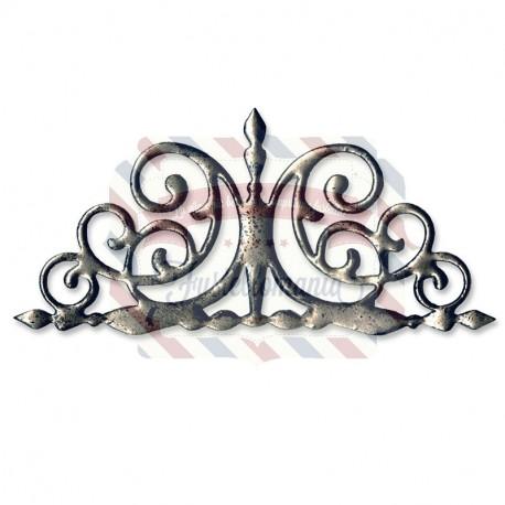 Fustella Sizzix Originals Cancello in ferro battuto