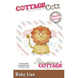 Fustella metallica Cottage Cutz Baby Lion