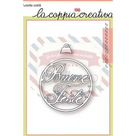 Fustella metallica Buone Feste