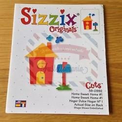 Fustella Sizzix Originals Casa dolce casa 1