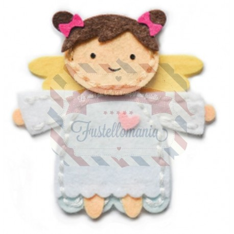 Fustella metallica Memory Box Plush Angel