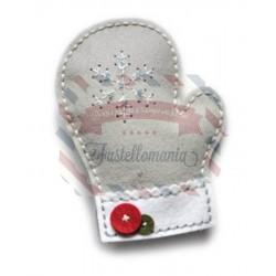 Fustella metallica Memory Box Plush Frosty Mitten