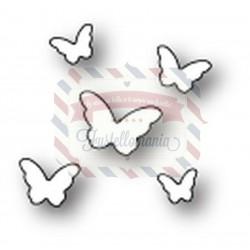 Fustella metallica PoppyStamps Butterfly Sprinkles