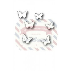 Fustella metallica Memory Box Mini Butterflies