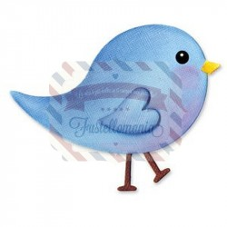 Fustella Sizzix Originals Uccellino baby bird