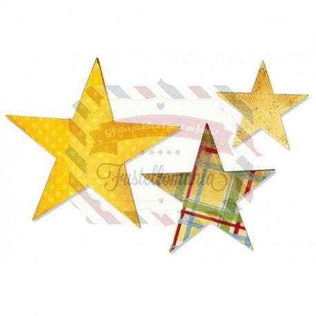 Fustella Sizzix Bigz Stars