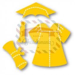 Fustella Sizzix Originals Yellow Vestito laurea