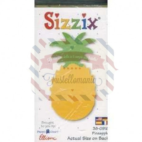 Fustella Sizzix Originals Yellow Ananas