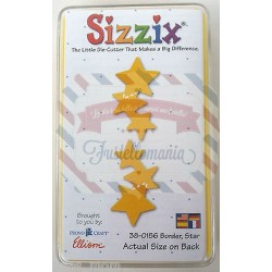 Fustella Sizzix Originals Yellow Bordo di stelle