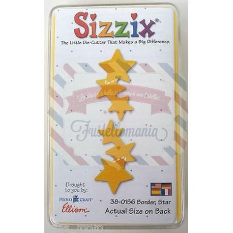 Fustella Sizzix Originals Yellow Bordo di stelle