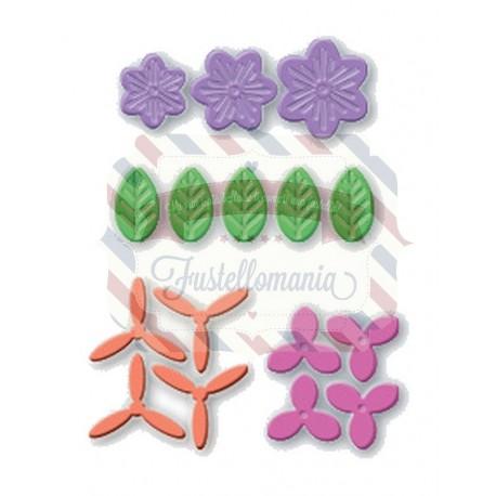 Fustella metallica Set fiori 2