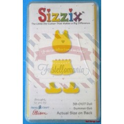 Fustella Sizzix Originals Yellow Doll