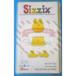 Fustella Sizzix Originals Yellow Doll