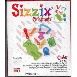 Fustella Sizzix Originals Clip e graffette