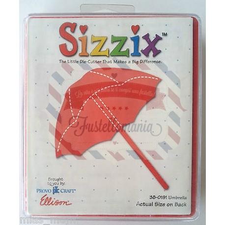Fustella Sizzix Originals Ombrello