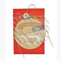 Fustella Sizzix Thinlits Palla di Natale