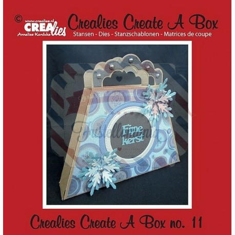Fustella metallica Crealies Create a box 11