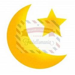 Fustella Sizzix Bigz Luna e stella