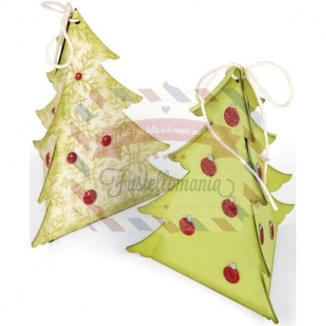 Fustella Sizzix Originals Scatola Albero Natale