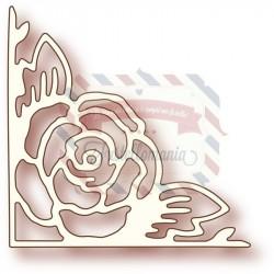 Fustella metallica Rose corner