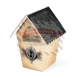 Fustella Sizzix BIGz XL Casetta uccellini Birdhouse 3D
