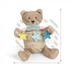 Fustella Sizzix A4 Orsetto Cub by Kid Giddy