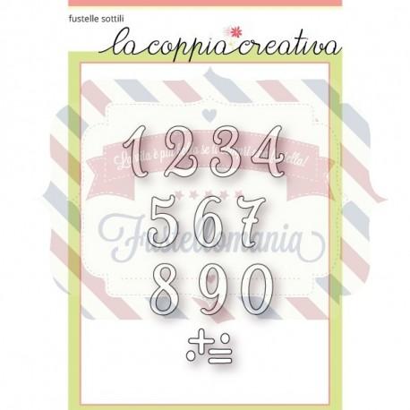 Fustella metallica Piccoli numeri