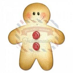 Fustella Sizzix Bigz Gingerbread man