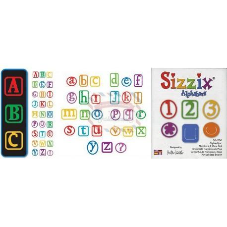 Lotto Alfabeto maiuscolo minuscolo e numeri