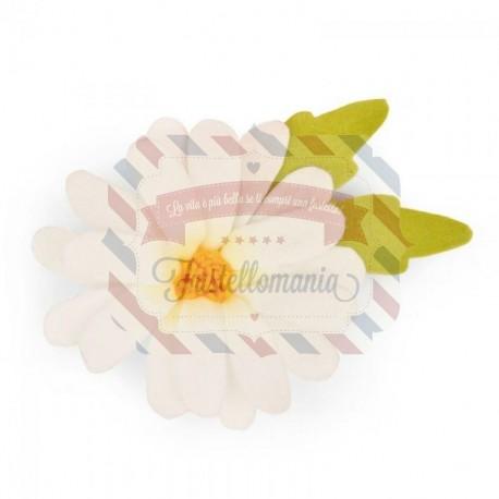 Fustella Sizzix Bigz Margherita e foglie Build a bloom