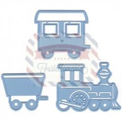 Fustella metallica Marianne Design Creatables Train