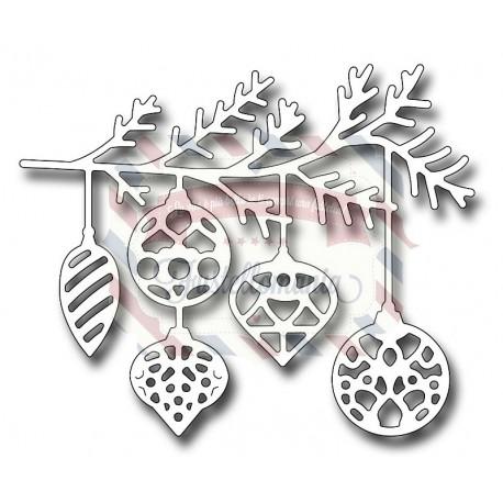 Fustella metallica Ornamental Swag