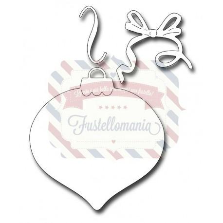 Fustella metallica Finial Ornament Background
